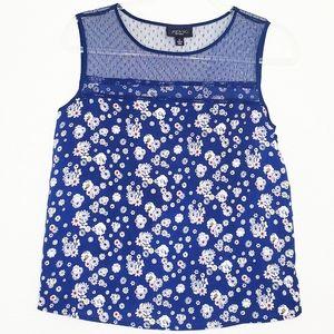 JASON WU FOR TARGET| Sleeveless Floral Mesh Top